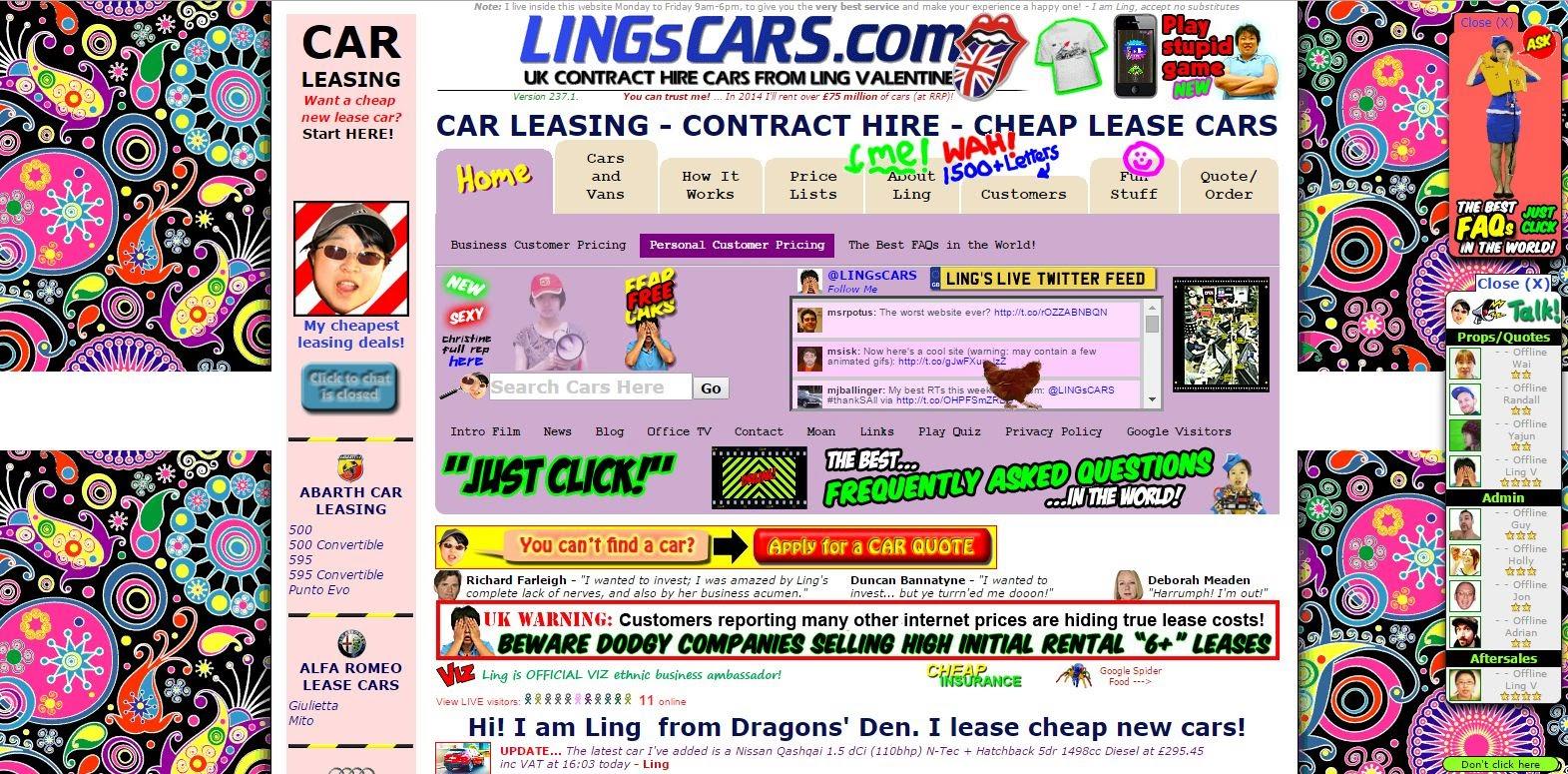 Worst websites