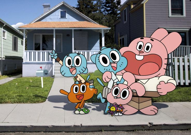 The Amazing World of Gumball Cartoon Wallpaper