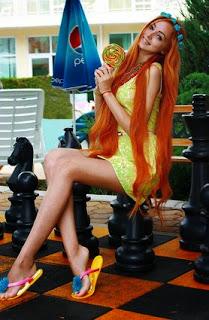 La nouvelle Barbie humaine Alina Kovalevskaya