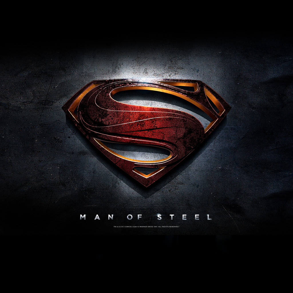 Superman A Man Of Steel Iphone Wallpaper