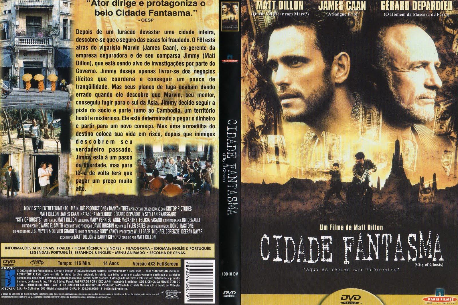 Capa do Filme Cidade Fantasma