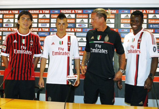 AC MIlan show off new kit, and new faces