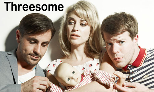 Threesome S01E01 HDTV XviD-TLA