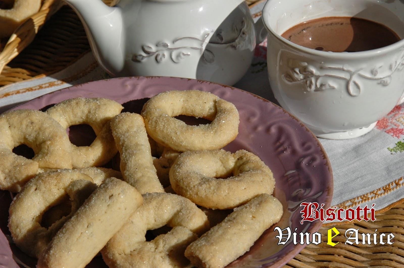 biscotti vino e anice