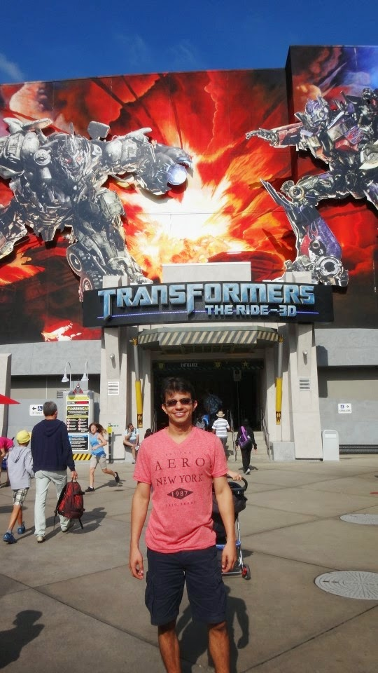 transformers - universal studios hollywood
