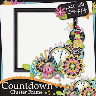 Countdown Cluster Frame Freebie and HAPPY NEW YEAR!!!!