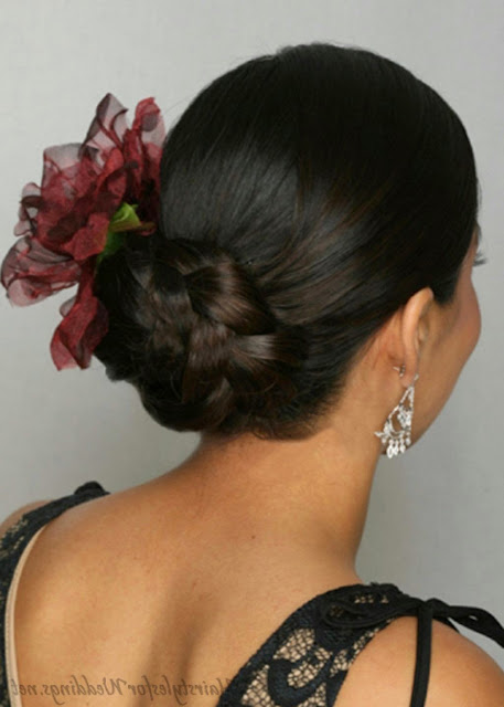 Updos For Medium Hairstyle Ideas
