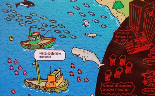 Imagen extraída del póster de campañas de Greenpeace
