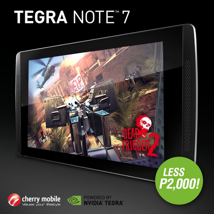 Cherry Mobile Tegra Note 7 Price Drop