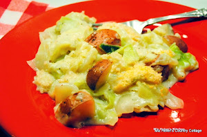 Baked Creamy Cabbage and Potatoes