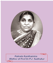 Mother of Prof Dr P J Sudhakar