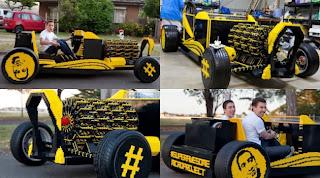 Mobil Yang Terbuat Dari Lego