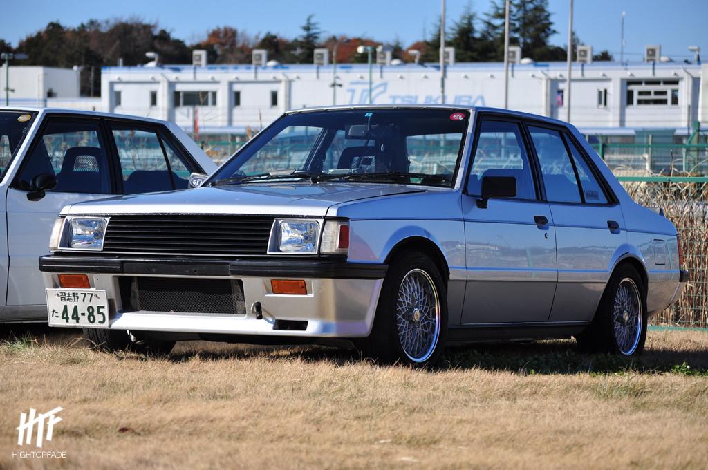 stary Mitsubishi Lancer, II, EX, fotki, zdjęcia, japońskie samochody, klasyczny design