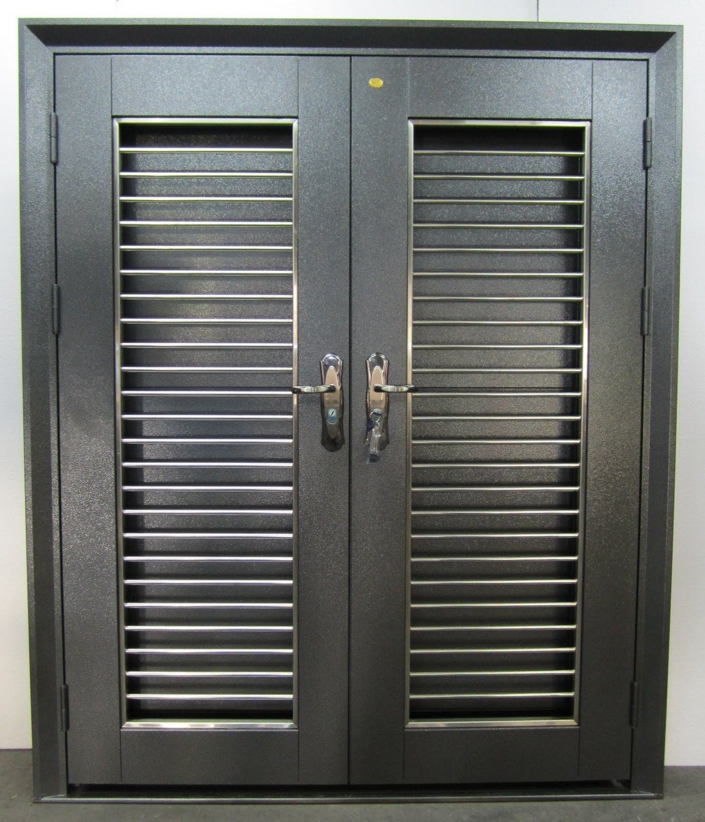 Double Layer Security Door