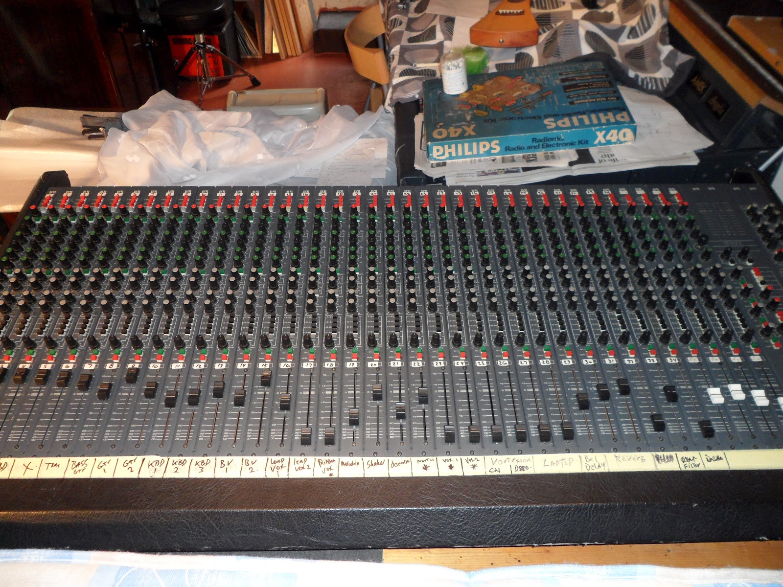 vintage audio workshop d r stylyx mixing console from. Black Bedroom Furniture Sets. Home Design Ideas