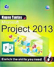 toko buku rahma: buku KUPAS TUNTAS MICROSOFT PROJECT 2013  , pengarang madcoms, penerbit andi