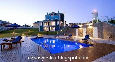 Casas grandes con piscina casas y estilo for Hoteles con piscina asturias