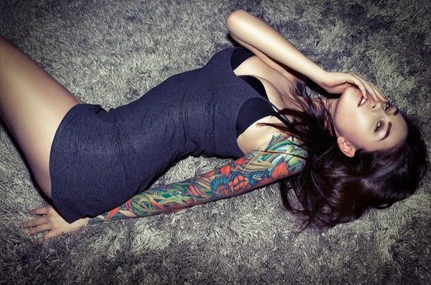 Sarah Larina Tattoo Designs