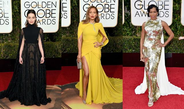 tendencias red carpet golden globes