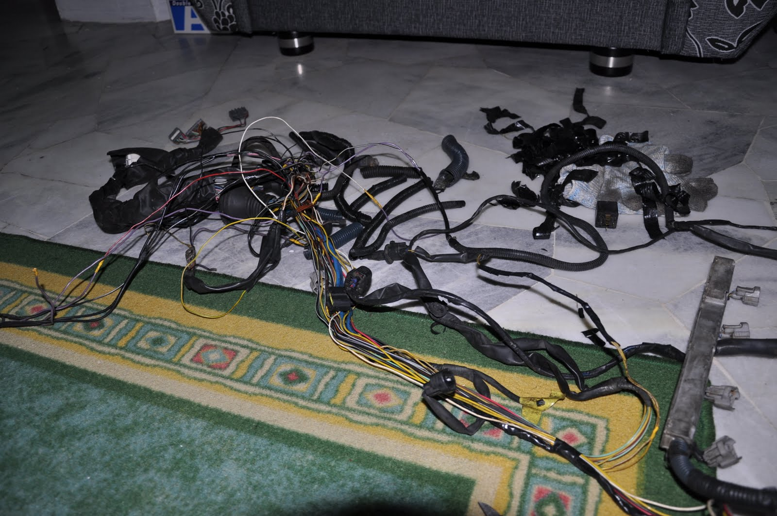 Rnr Autosport Vehicle Wiring And Engine Management Tuning 4age Harness Shown Here Is The 4ag 20 Valve Wiringalso Being Stripped Outremove Unnecessary Combined With Factory Ae86