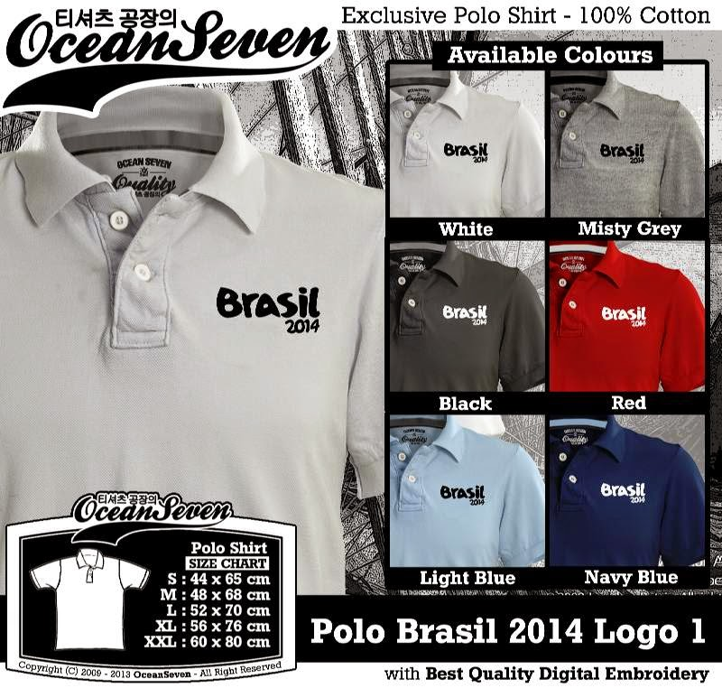 Kaos Polo Brasil 2014 Logo 1