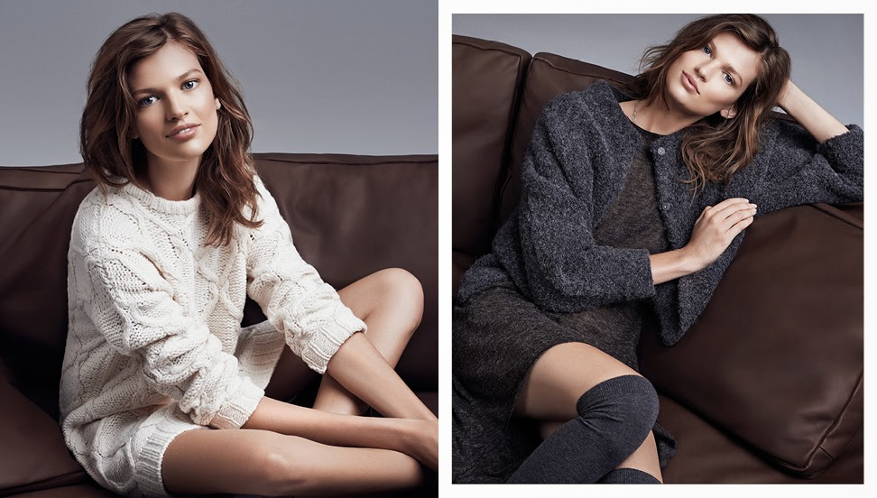H&M 'Knitted Essentials' Lookbook Fall/Winter 2014