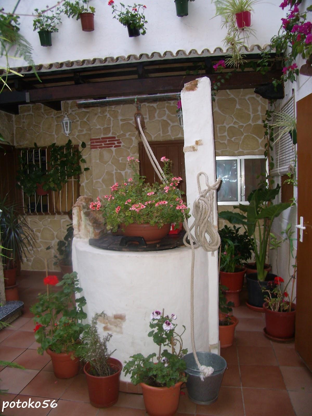Casa Roteña Patio Pozo y Flores