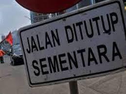 Besok, Jalan Raya Parung-Ciputat Ditutup