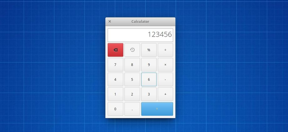 elementary OS Calculator