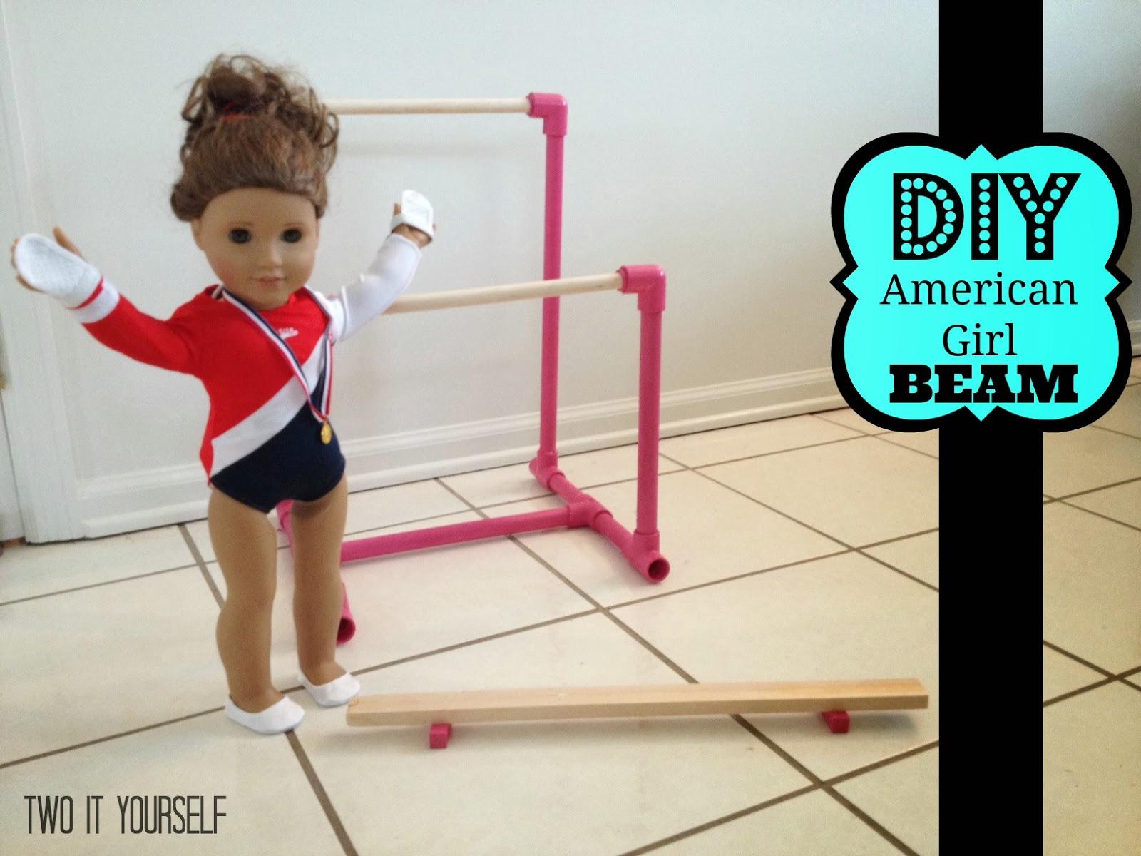 http://www.twoityourself.com/2013/12/diy-american-girl-balance-beam.html