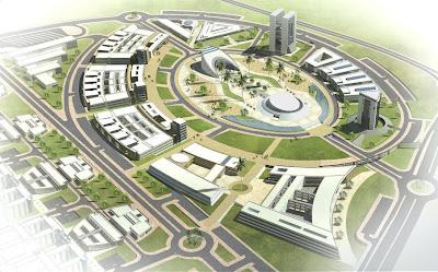 Parlons architecture et construction pôle universitaire sidi