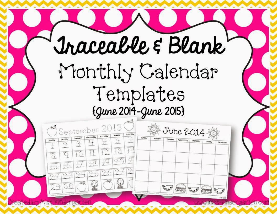 ... Traceable-Blank-Monthly-Calendar-Templates-June-2014-June-2015-873652