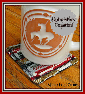 Upholstery Coasters