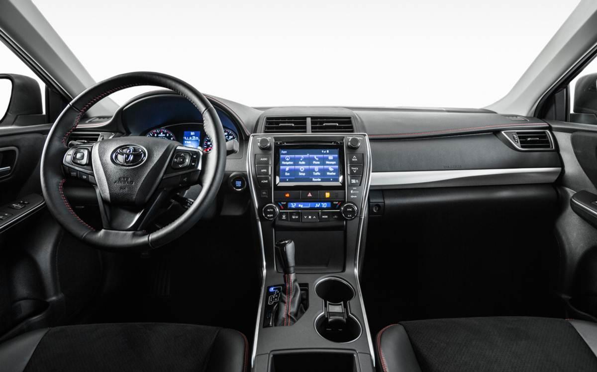 Novo Toyota Camry 2015 - painel