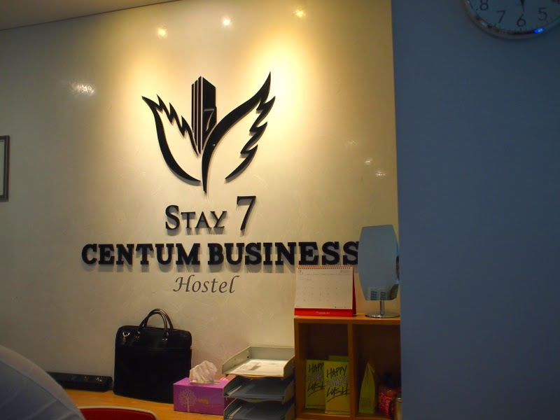 Stay 7 Centum Business Hostel Busan Korea lunarrive Travel blog Singapore