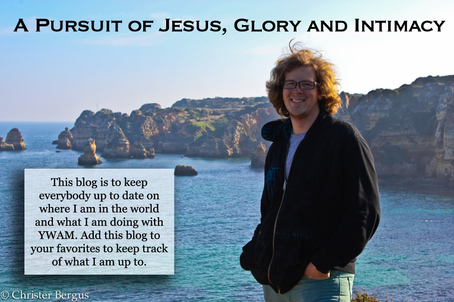 A Pursuit of Jesus, Glory and Intimacy