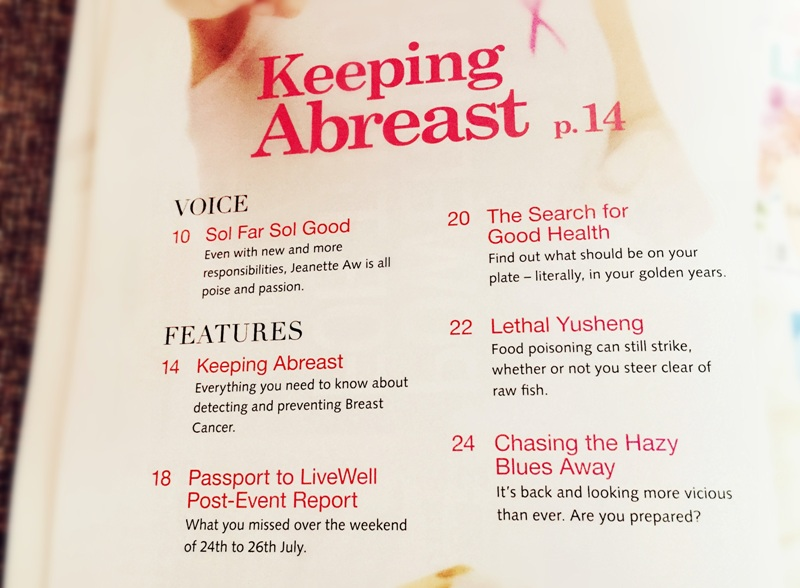 livewell magazine october issue