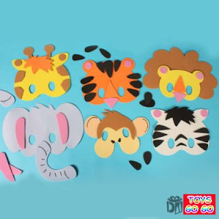 """PAGE 3 - """"How To"""" for MASKS, COSTUMES, and GLASSES: ANIMAL MASKS FOR ..."""