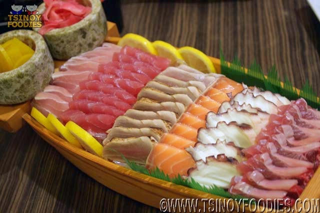 unlimited sashimi