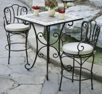 Muebles de hierro para exteriores galer a - Muebles de hierro forjado para jardin ...