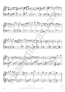 2  Lo Imposible Partitura de Piano Sheet Music for Piano