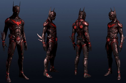 batman beyond armor