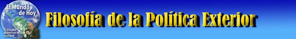 POLÍTICA EXTERIOR