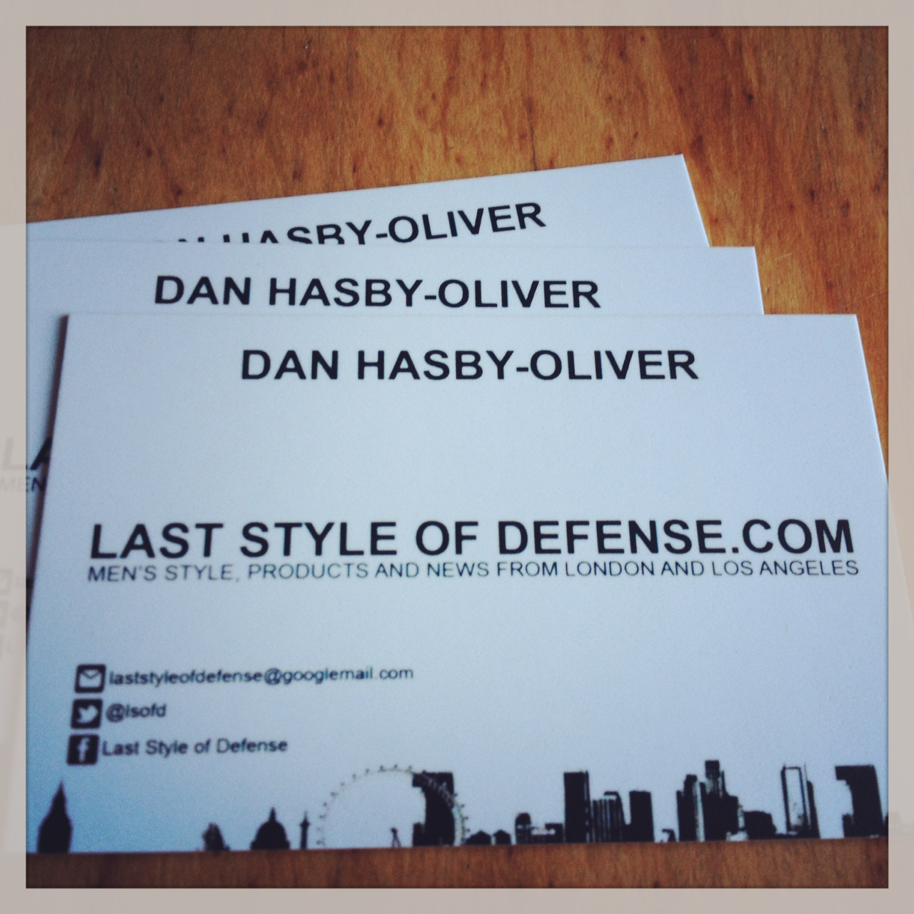 LSoD Business Cards x Instant Print - Last Style of Defense