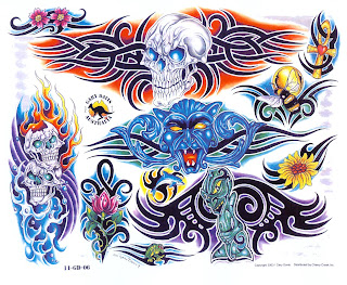 Pergaminho Tatto on Prince Tattoo  Tribal Colorido