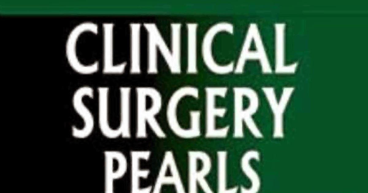 Learn R Dayananda Babu Clinical Surgery Pearls Pdf Free Download