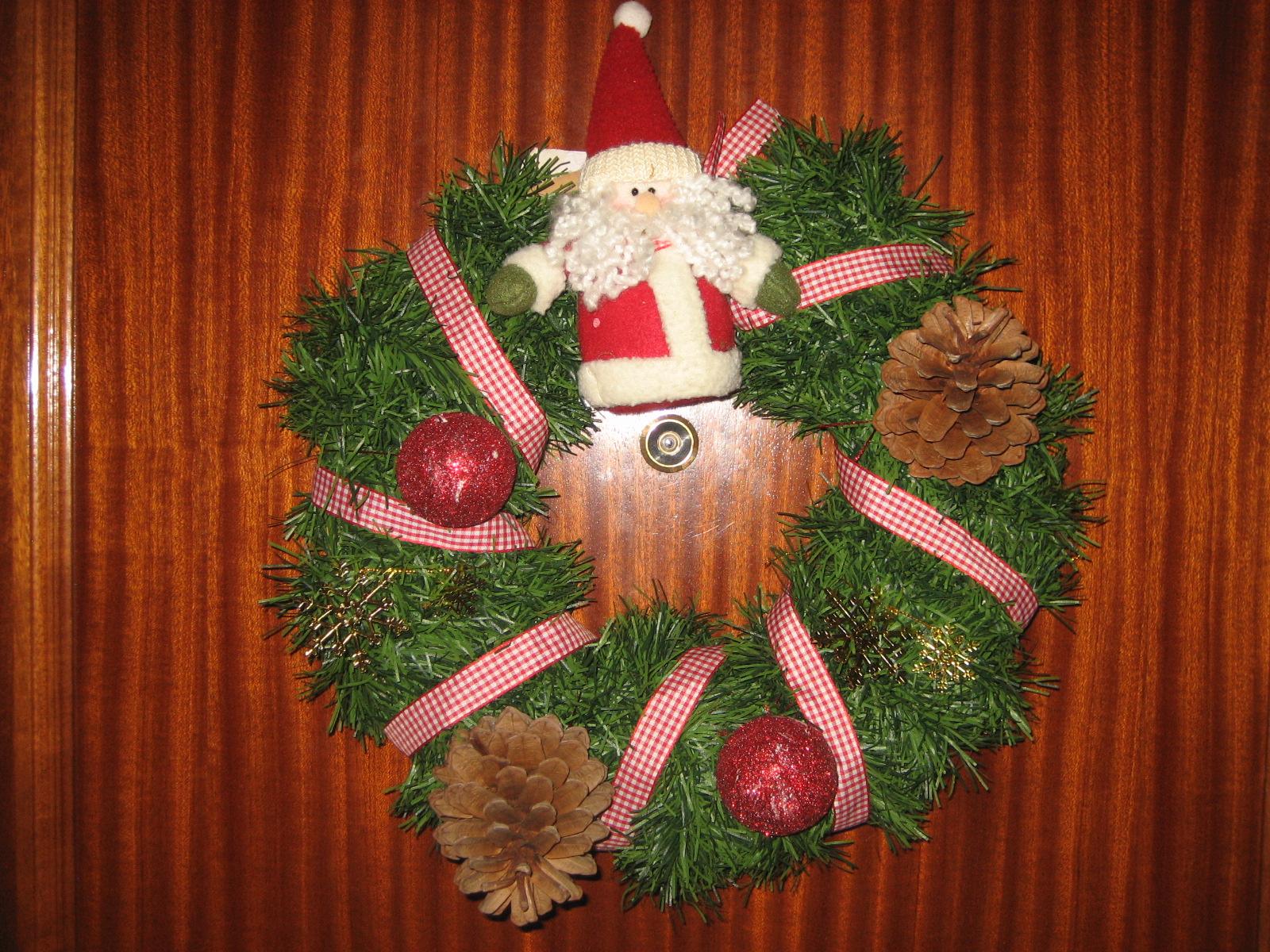 Corona de navidad para la - Coronas de navidad para puertas ...