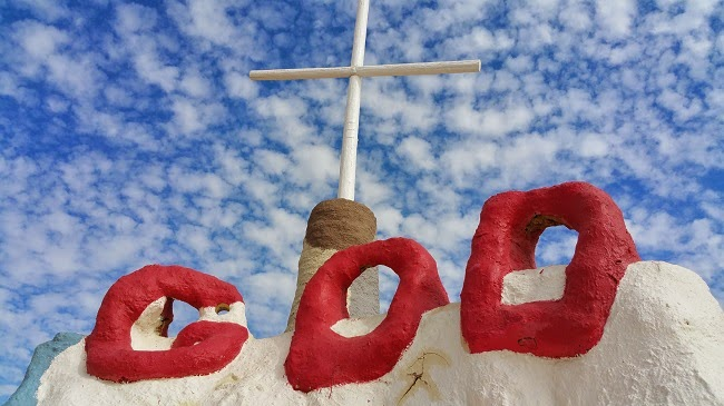 Salvation Mountain near Niland CA