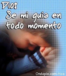 Imagen Religiosa Dios Se Mi Guia En Todo Momento (Imagenes para Facebook)