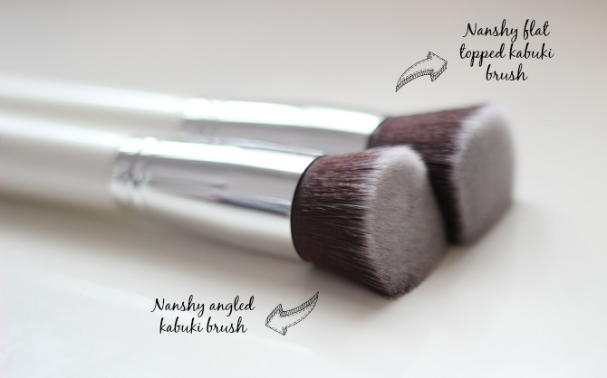 Nanshy face brushes